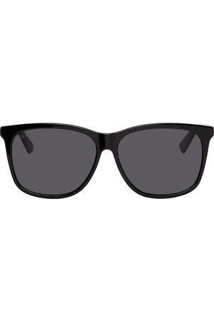Gucci Men Square - Black Square Sunglasses