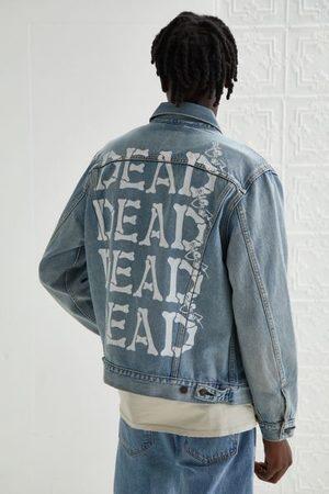 Levi's Men Denim Jackets - Grateful Dead Upcycled Trucker Jacket