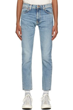 Nudie Jeans Men Jeans - Indigo Lean Dean Jeans