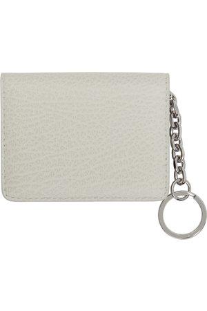 Maison Margiela Off-White Bifold Keychain Card Holder