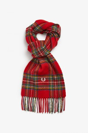 Fred Perry Authentics Fred Perry Royal Stewart Tartan Scarf