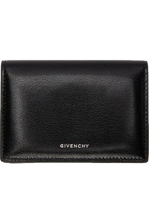 Givenchy Women Wallets - Black Leather Edge Card Holder