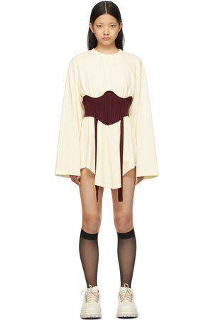 SJYP Women Long Sleeve - Yellow Bustier Long Sleeve T-Shirt