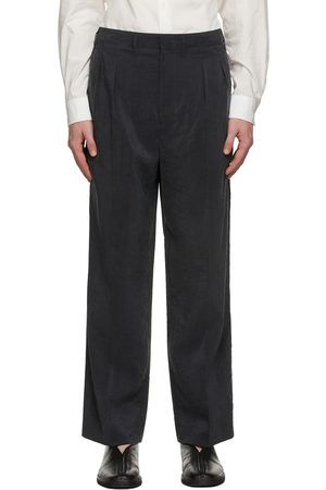 LEMAIRE Grey 2 Pleats Trousers