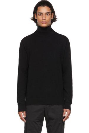 Agnona Black Cashmere Seamless Turtleneck