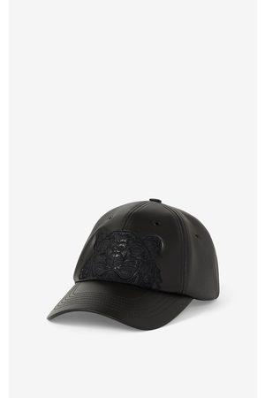 Kenzo Caps - Leather Kampus Tiger cap