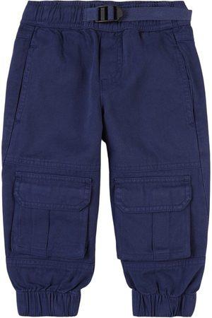 Stella McCartney Kids - Navy Cargo Trousers - Unisex - 2 years - Navy - Cargo pants