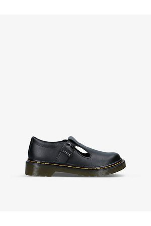Dr. Martens Boys School Shoes - Polley leather mary jane shoes 6-9 years