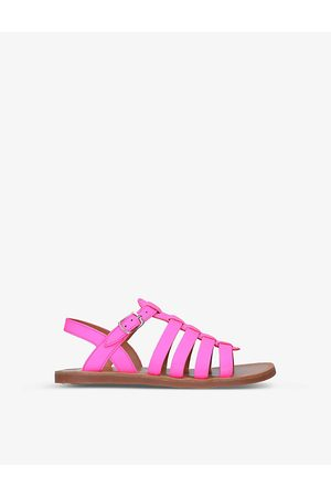 Pom d'Api Plagette strappy leather sandals 7-8 years
