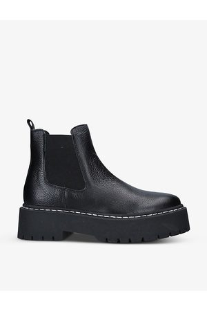 Steve Madden Women Ankle Boots - Veerly leather Chelsea boots