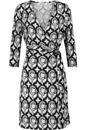Diane von Furstenberg New Julian Two printed silk wrap dress