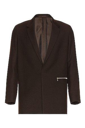 Jil Sander Sharp Wool Serge Jacket in