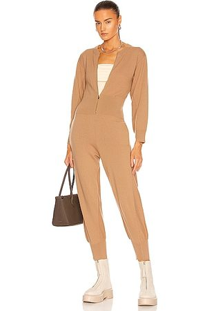 Stella McCartney All In One Knit Jumpsuit in Brown