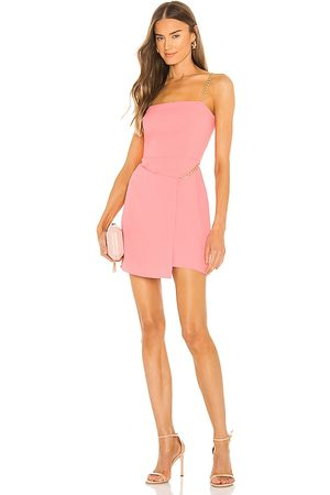 Amanda Uprichard Stilla Dress in Pink.
