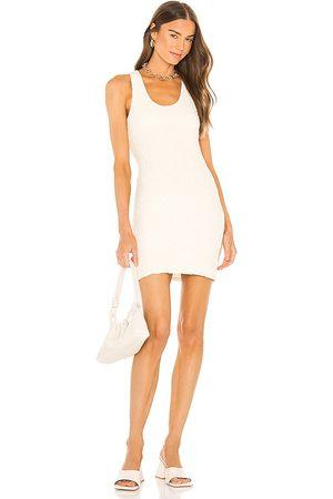 L'Academie Gianna Mini Dress in Ivory.