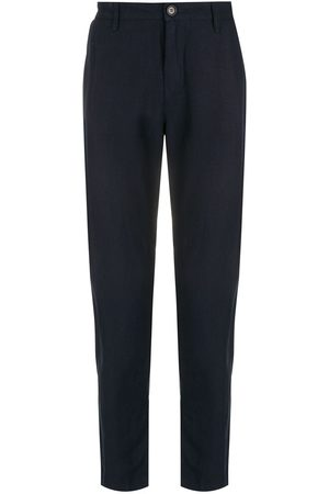 Osklen Men Formal Pants - Fluid linen tailored trousers