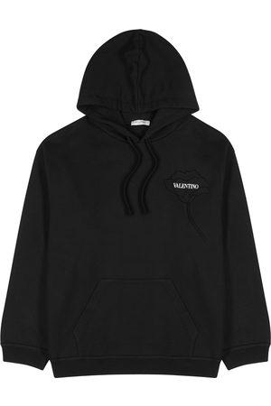 VALENTINO Hooded cotton sweatshirt