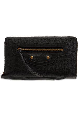 Balenciaga Neo Classic City Leather Zip Wallet
