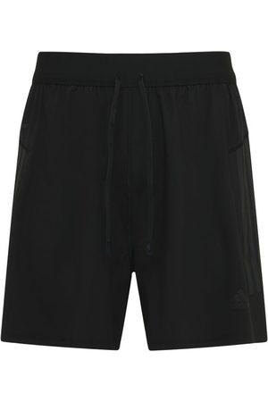 ADIDAS PERFORMANCE Yoga Nylon Sweat Shorts
