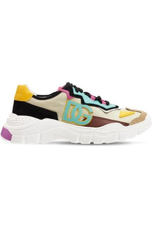 Dolce & Gabbana Daymaster Mesh Lace-up Sneakers