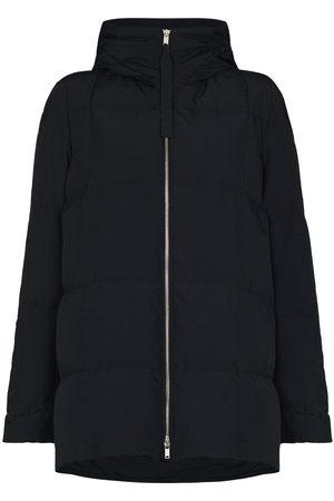 Jil Sander Women Puffer Jackets - Zip-up oversized puffer jacket