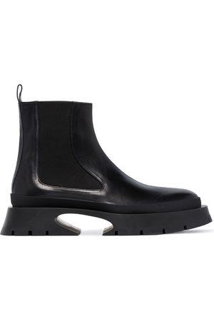 Jil Sander Women Chelsea Boots - Chunky-sole Chelsea boots