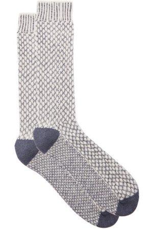 John Lobb Merino Wool-blend Outdoor Socks - Mens