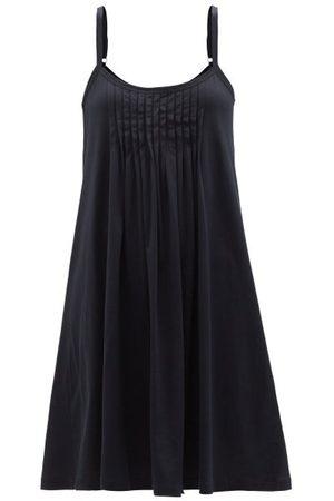 Hanro Juliet Pleated Cotton-jersey Nightdress - Womens