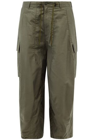 Pins & Needles Cropped Cotton-twill Cargo Trousers - Mens