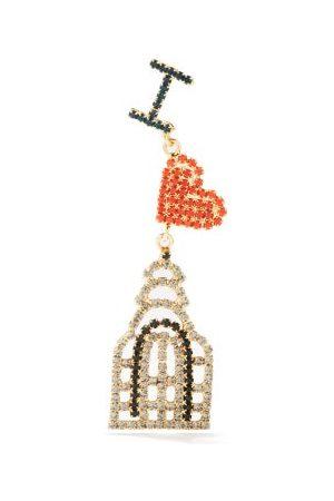 ROSANTICA I Love New York Crystal-embellished Single Earring - Womens - Multi