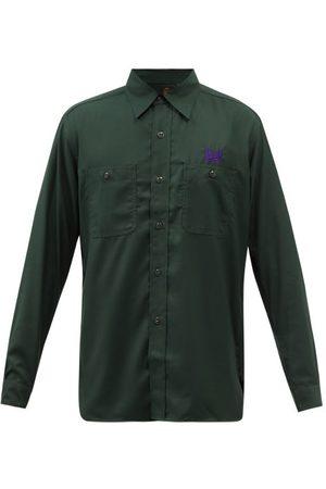 Needles Men Long sleeves - Work Garbadine Long-sleeved Shirt - Mens