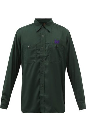 Pins & Needles Work Garbadine Long-sleeved Shirt - Mens