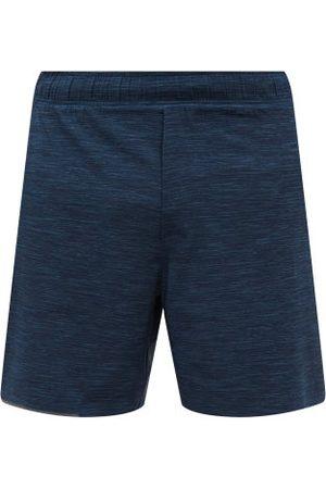 "Lululemon Men Sports Shorts - Surge 6"" Lined Running Shorts - Mens - Navy"