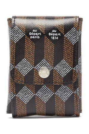 AU DEPART Men Luggage - Monogram Coated-canvas Dental Travel Kit - Mens - Multi