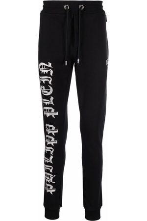 Philipp Plein Men Sweatpants - Logo-print jogging trousers