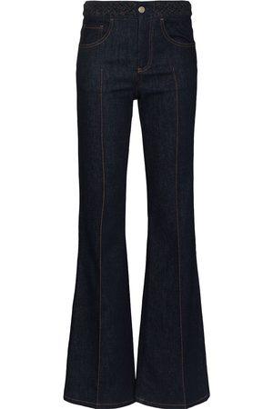 Chloé High-waisted flared jeans