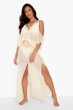 Boohoo Womens Batwing Maxi Beach Dress - - S