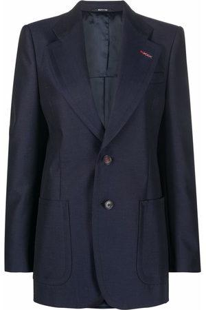 Maison Margiela Women Blazers - Notched-lapel single-breasted blazer