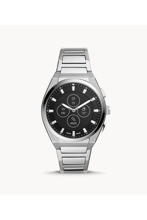 Mens Fossil Men's Hybrid Smartwatch Hr Everett Stainless Steel