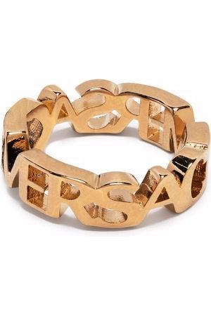 Versace Rings - Logo letter ring