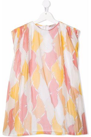 Emilio Pucci Junior Girls Printed Dresses - Bow-print dress