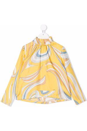 Emilio Pucci Junior Girls Blouses - Graphic-print blouse