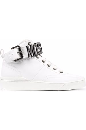 Moschino Lettering logo high-top sneakers