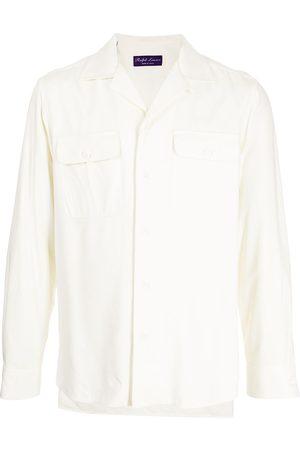 Ralph Lauren Men Long sleeves - Long-sleeve silk shirt