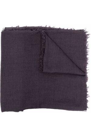 Rick Owens DRKSHDW Cashmere-blend fringed scarf
