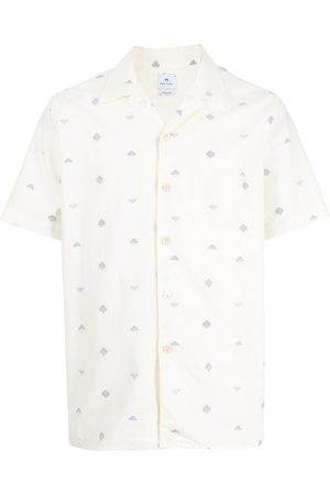 Paul Smith Embroidered short-sleeve shirt