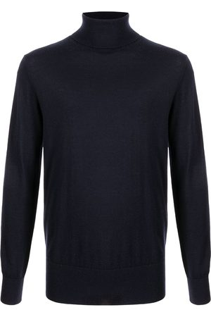 N.PEAL Men Turtlenecks - Fine knit roll neck jumper