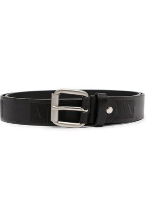 Armani Men Belts - Logo print belt