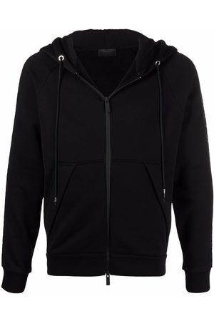 Moncler Men Hoodies - Cotton zipped hoodie
