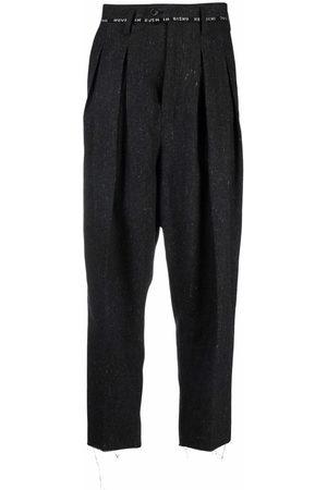 DOUBLET Men Wide Leg Pants - Wide-leg trousers - Grey